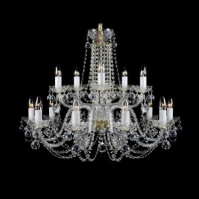 Křišťálové skleněné lustry Bohemia crystal