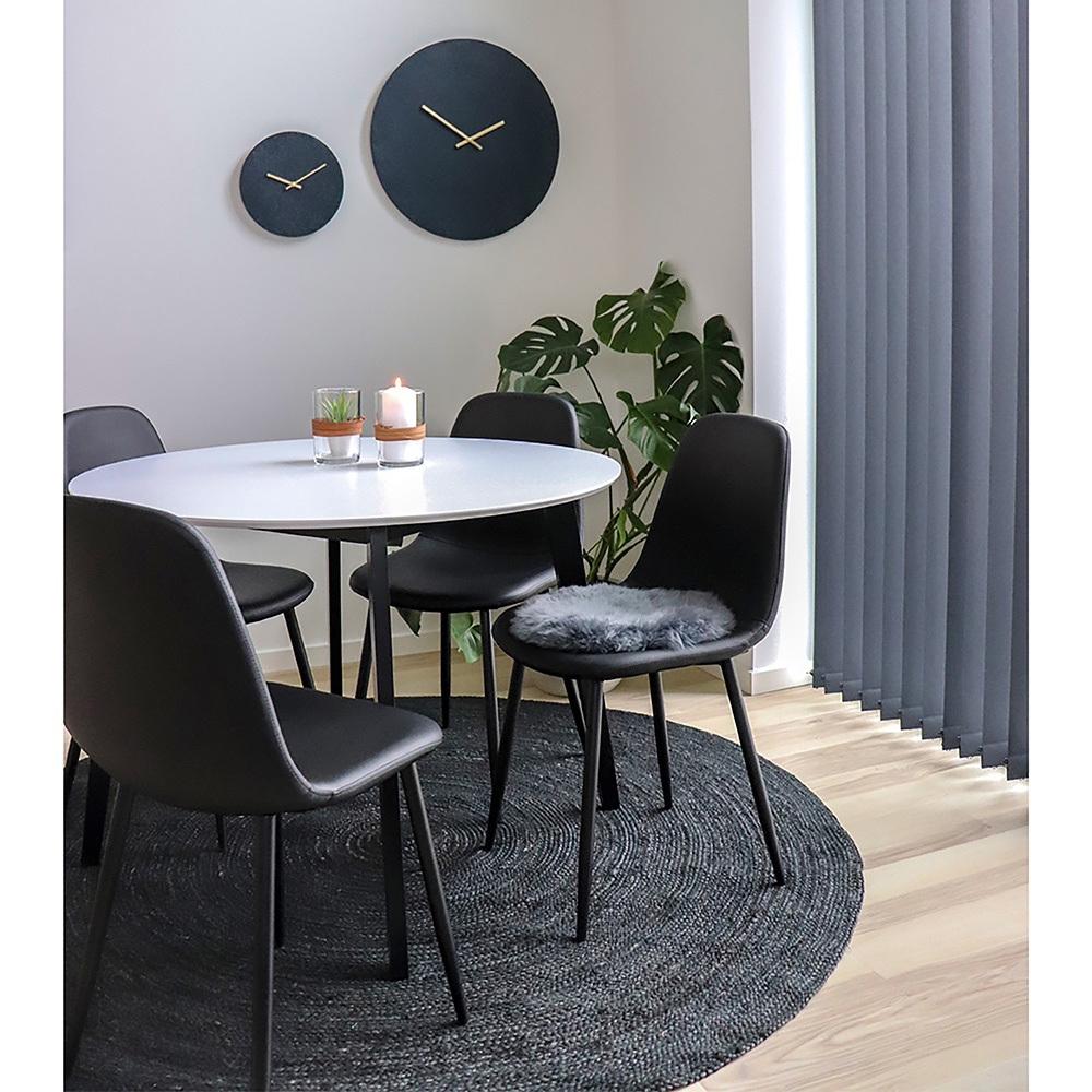 Designová jídelní židle Myla černá
