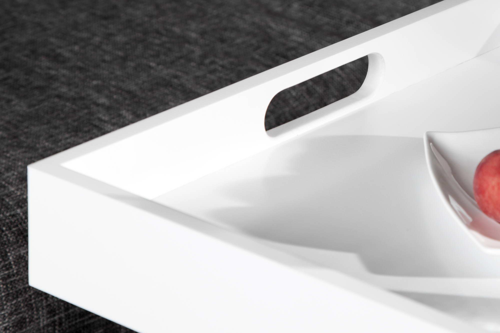 Odkládací stolek Charlie White-skladem RP