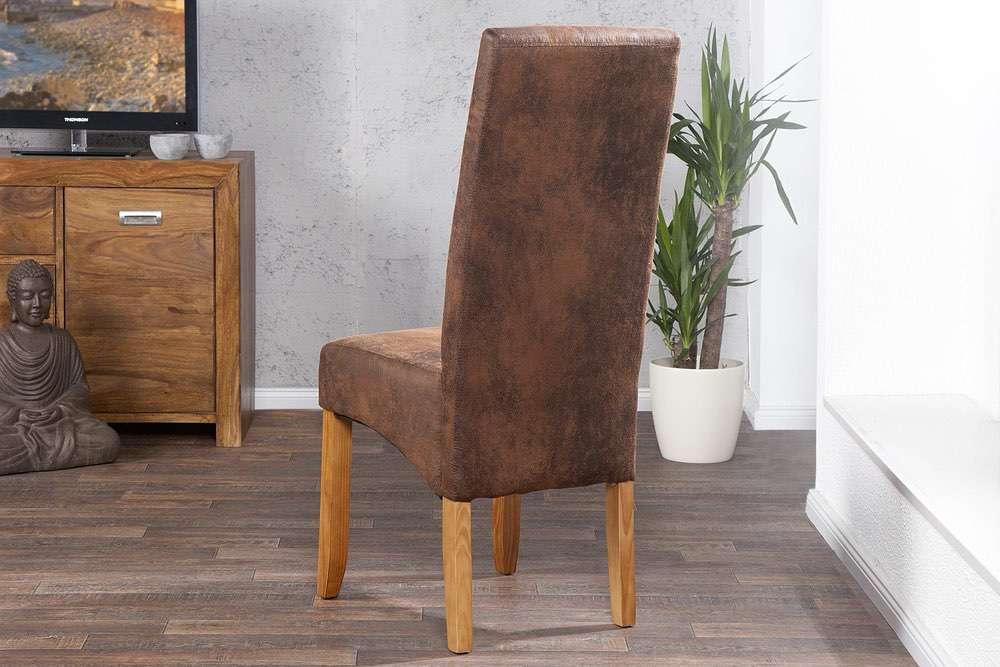 Židle Clemente Vintage Look světle hnědá - Skladem (RP)