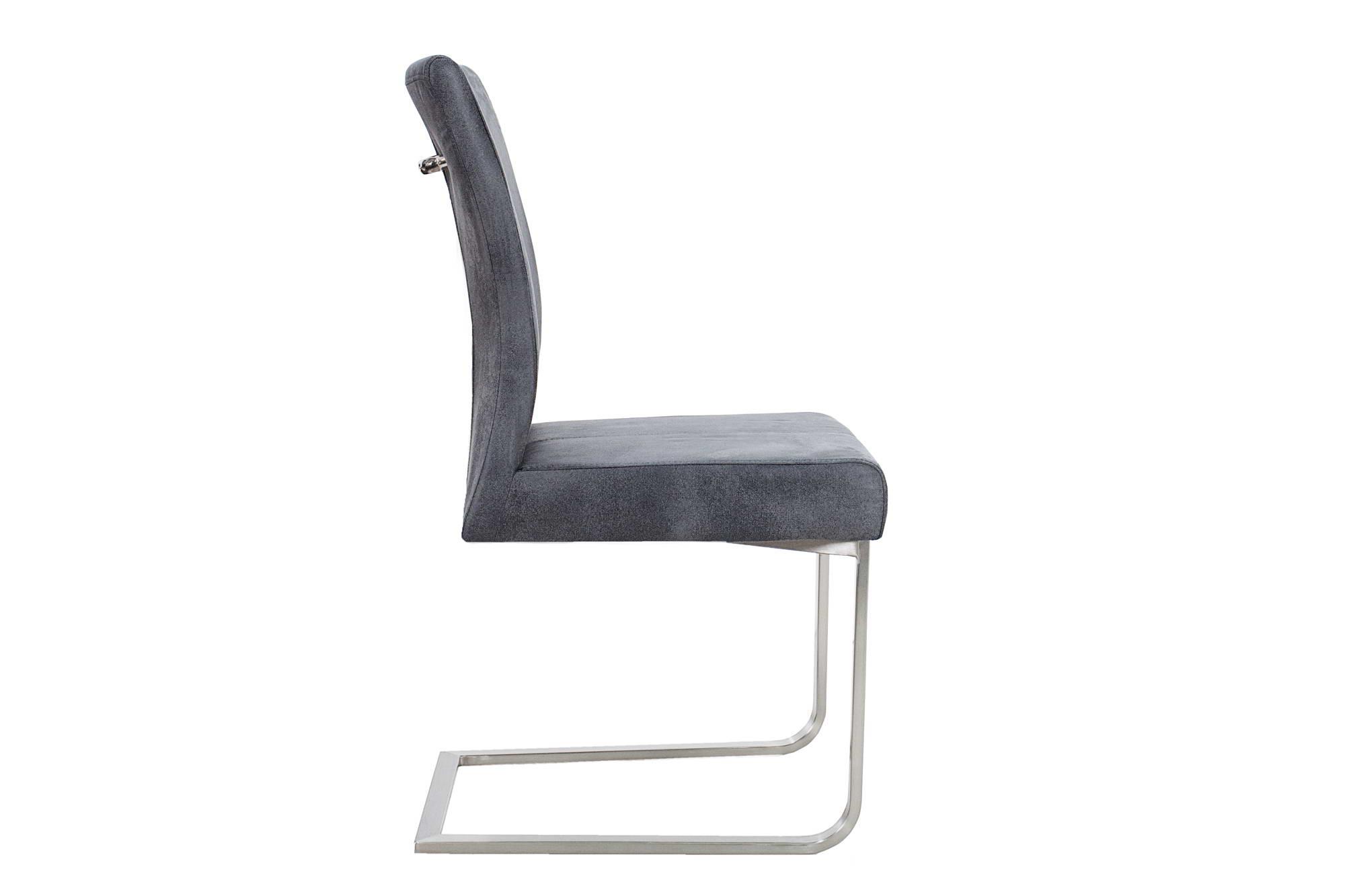 Židle Bull II Vintage šedá