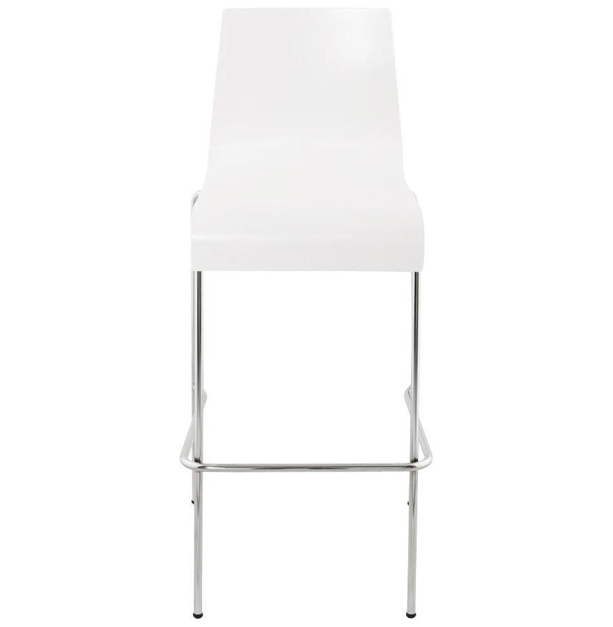 Moderní barová židle Aiden bílá