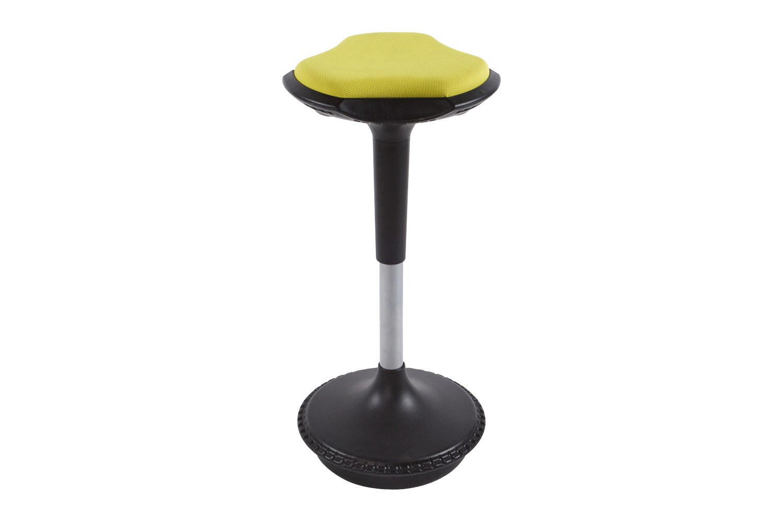 Moderní barová židle Caleb hořčicová