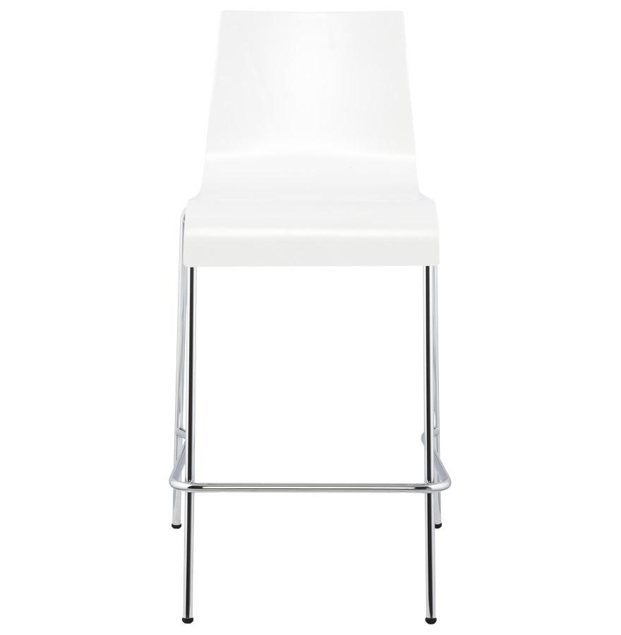 Moderní barová židle Henry bílá