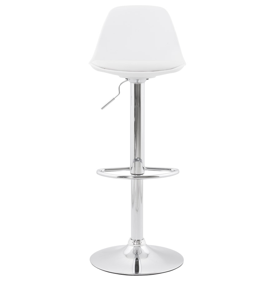 Moderní barová židle Landon bílá