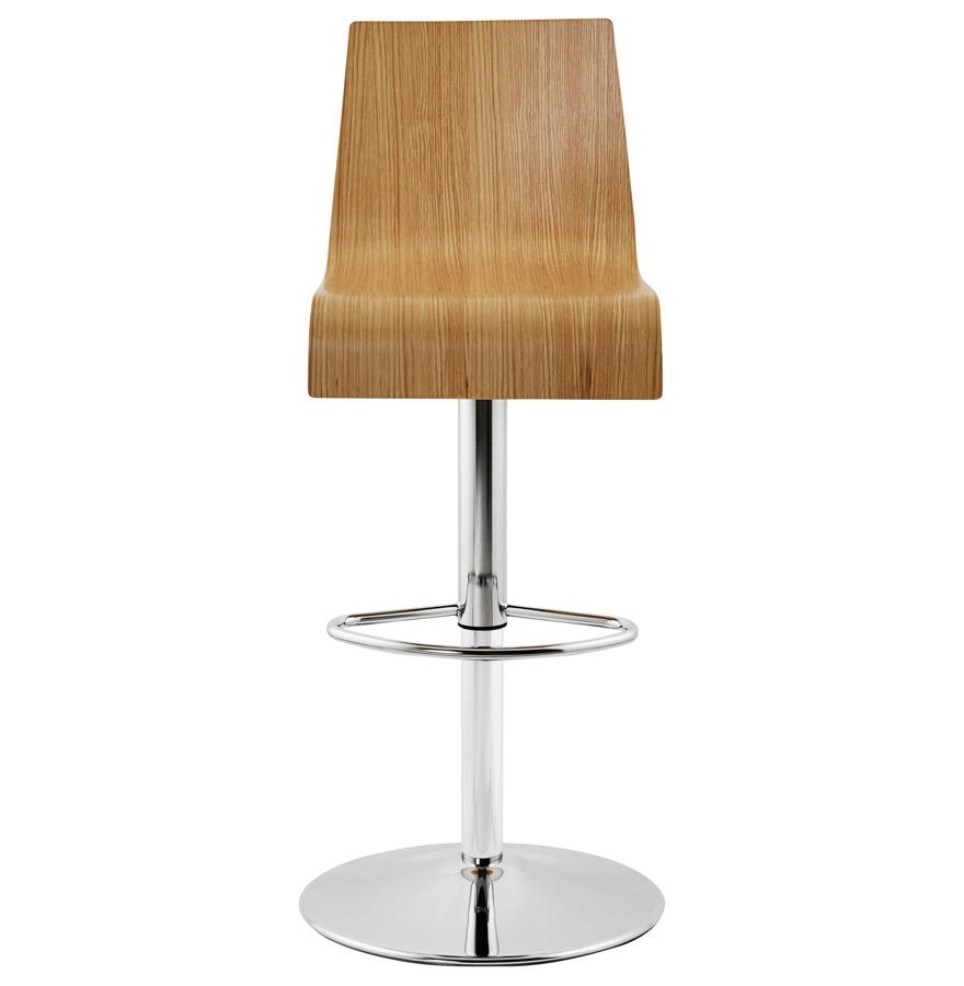Moderní barová židle Cameron dřevěná