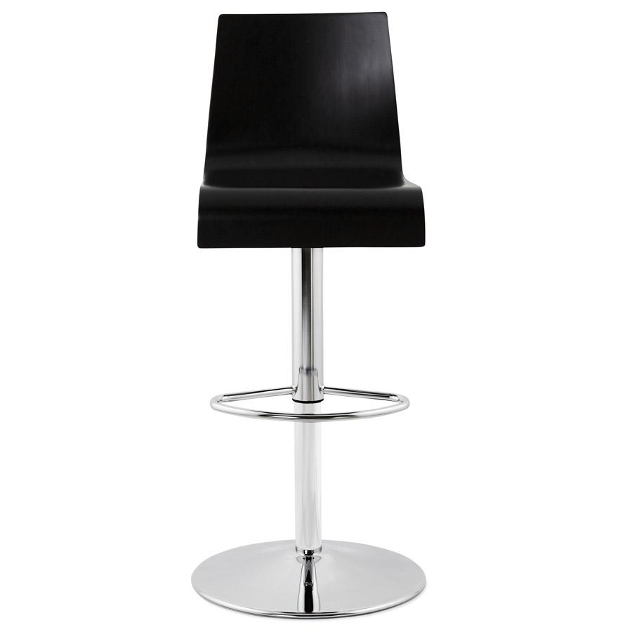 Moderní barová židle Cameron černá
