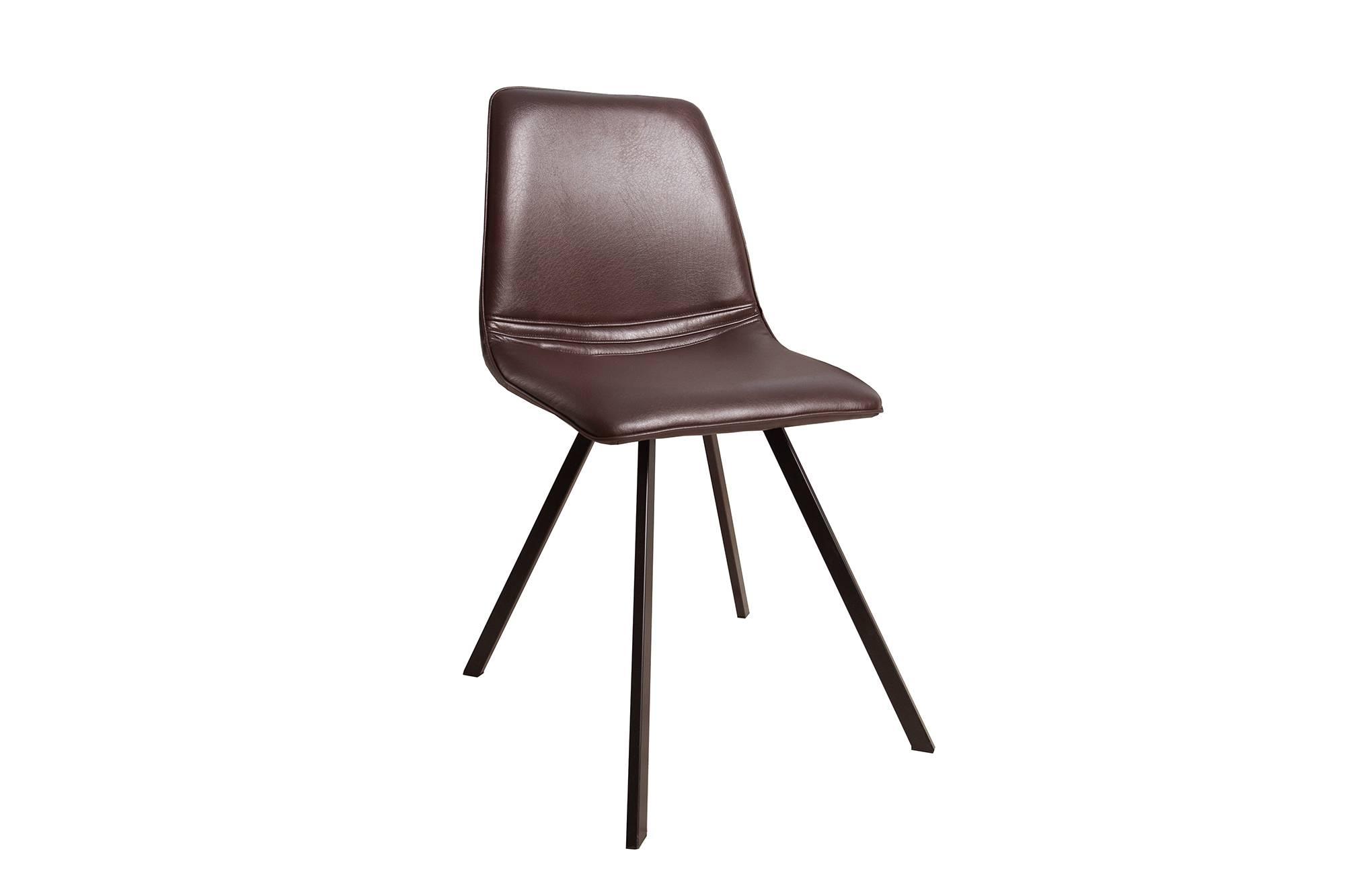 Židle Holland Retro hnědá