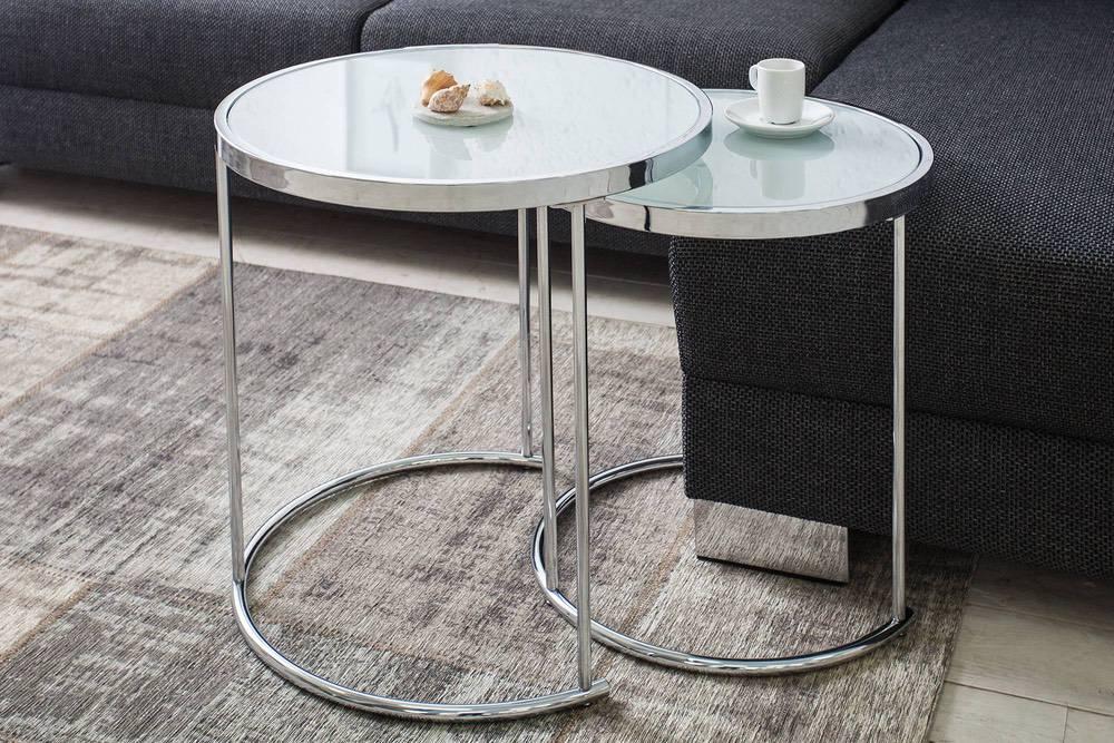 Konferenční stolek Movement 2 set chrom