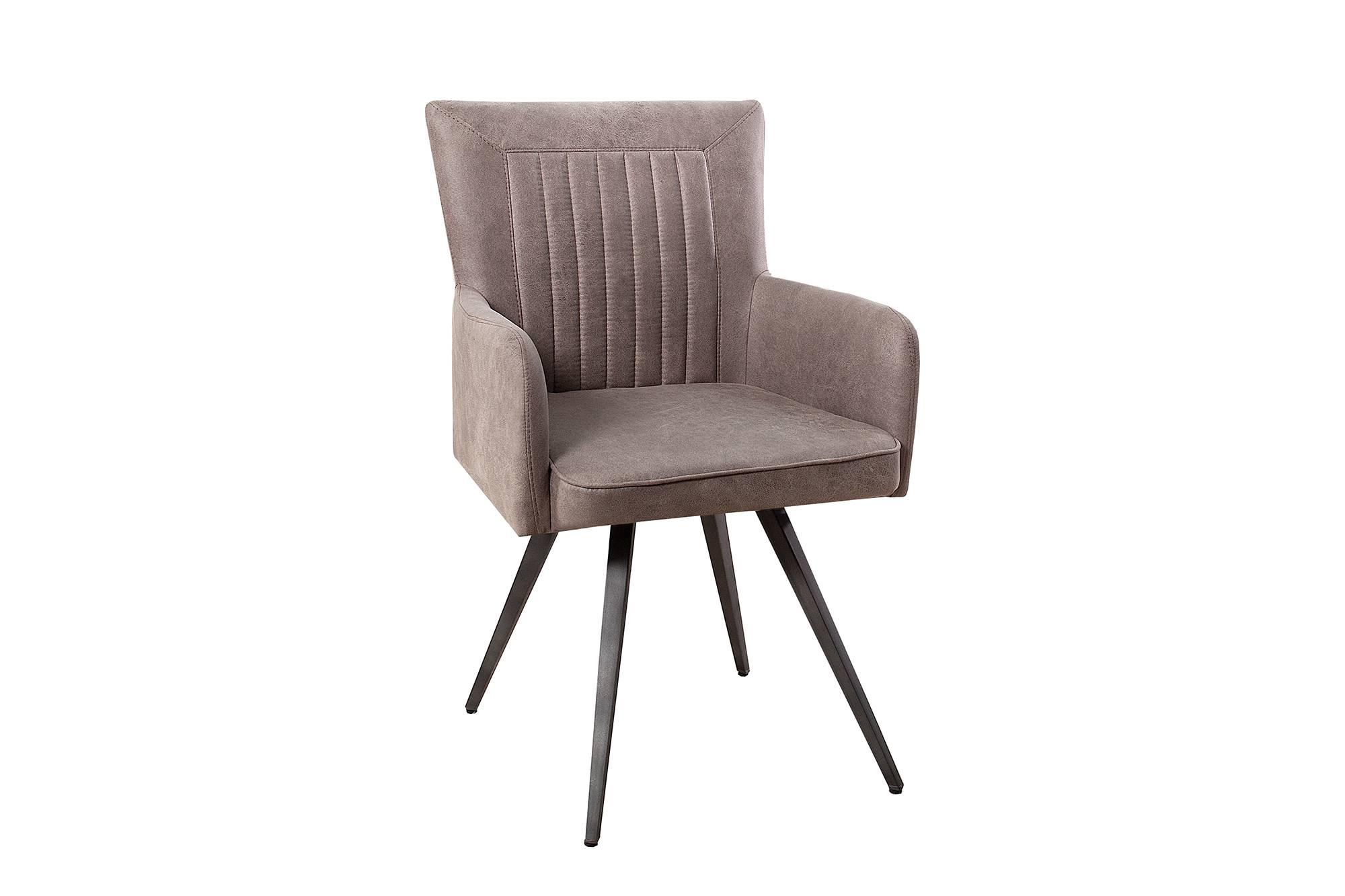 Designová židle Adda šedá