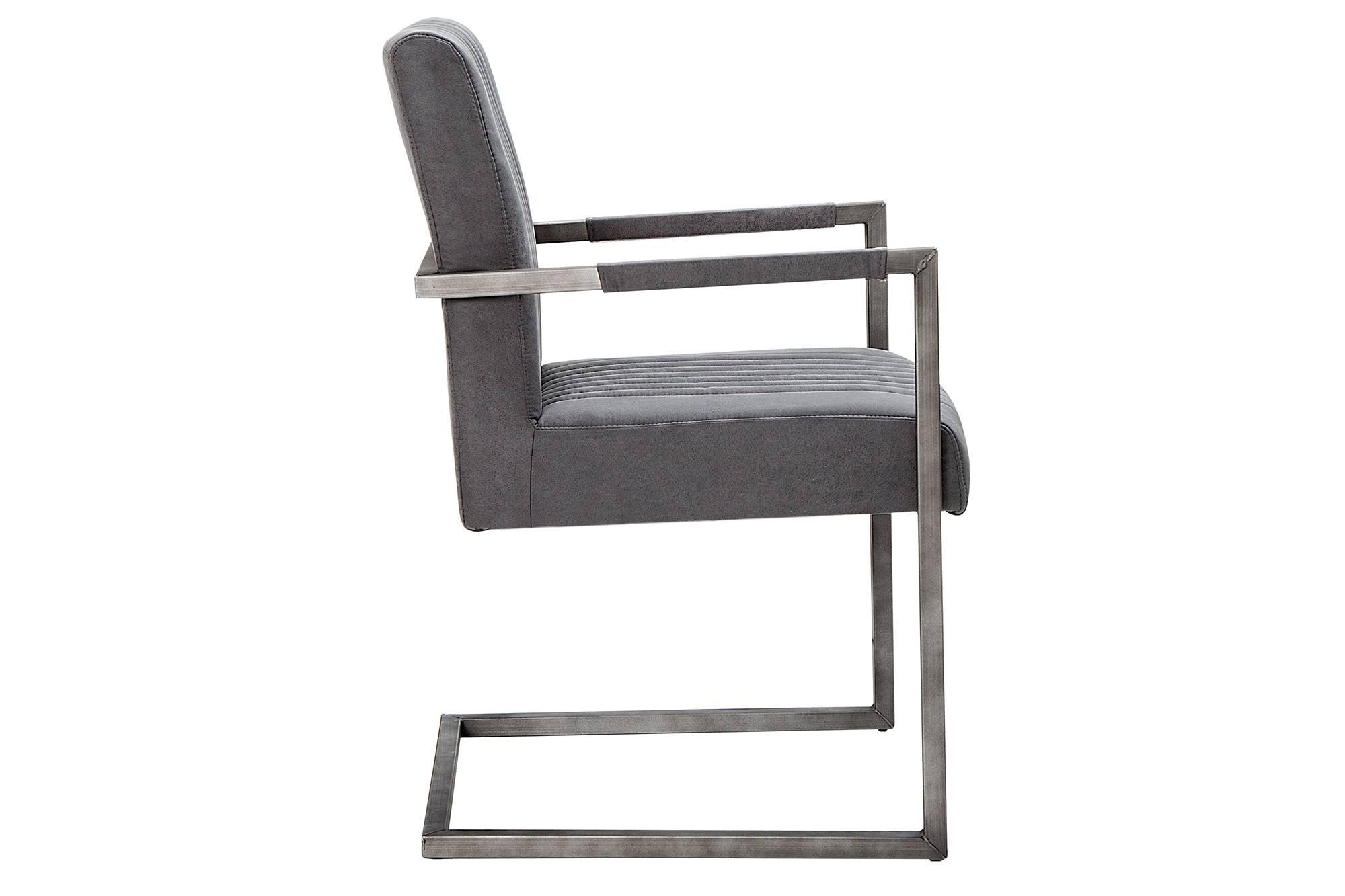 Židle Boss Vintage šedá II - Skladem na SK (RP)