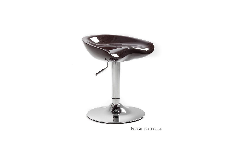 Designová barová židle Sasha - černá