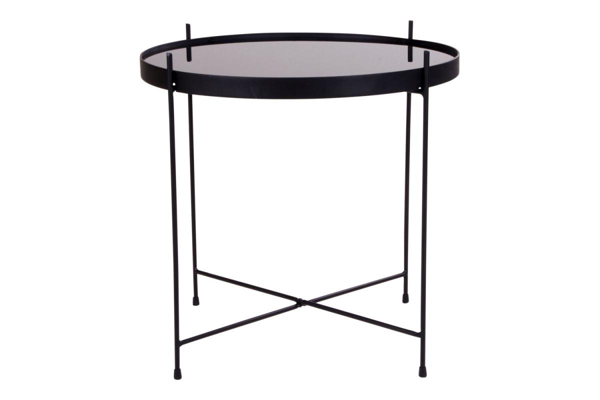 Designový konferenční stolek Tatum 48 cm černý - II. třída