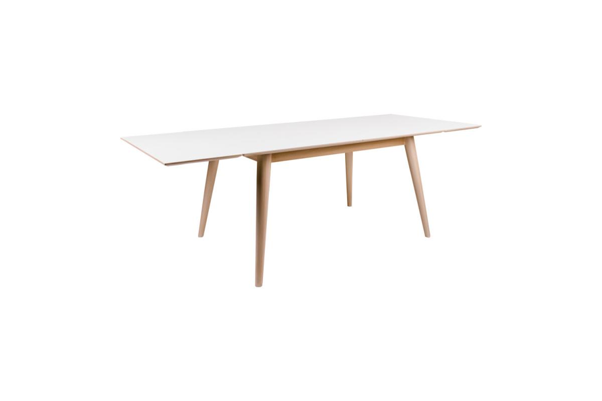 Roztahovací stůl Ronald 230, přírodní / bílý