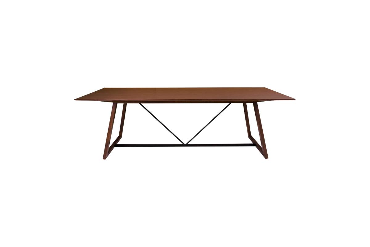 Designový jídelní stůl Miriam 240, ořech