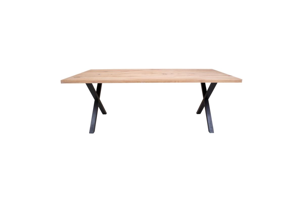 Designový jídelní stůl Finnegan, bílý dub