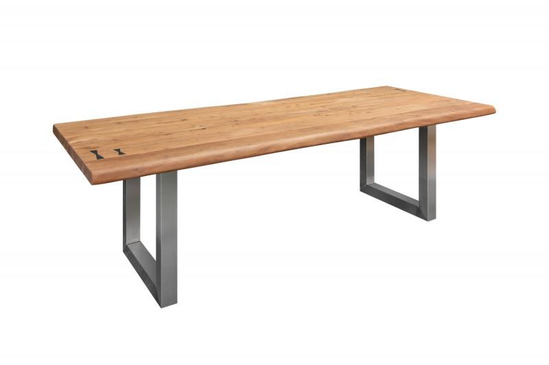 Jídelní stůl Massive Artwork 240 cm přírodní akácie