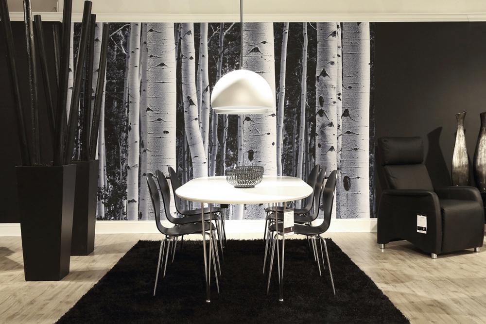 Jídelní stůl rozkládací nazi 170 - 270 cm bílý