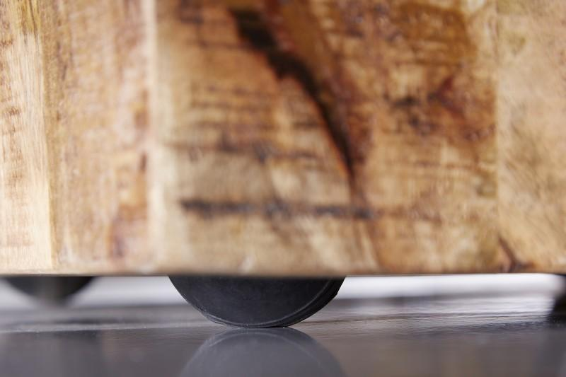 Designová taburetka Unity, 40 cm, mango