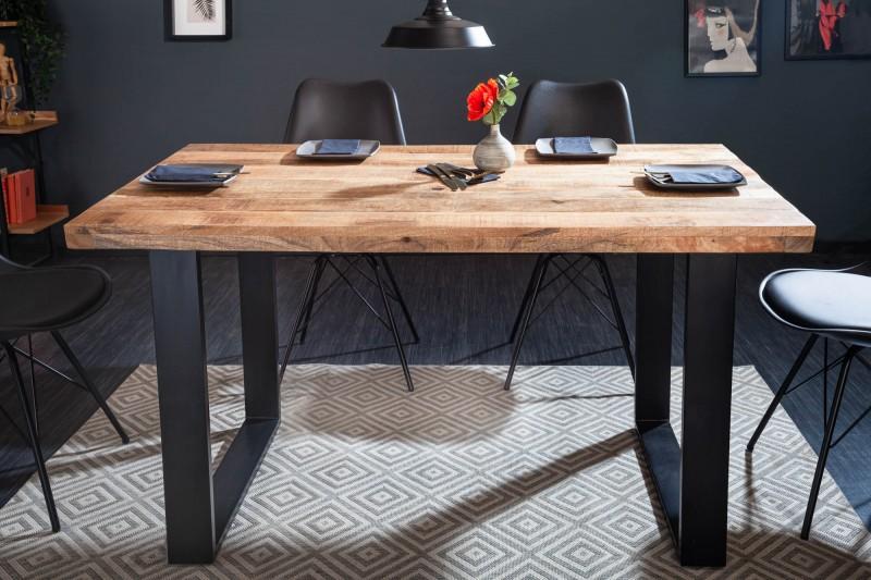 Designový jídelní stůl Thunder 140 cm mango