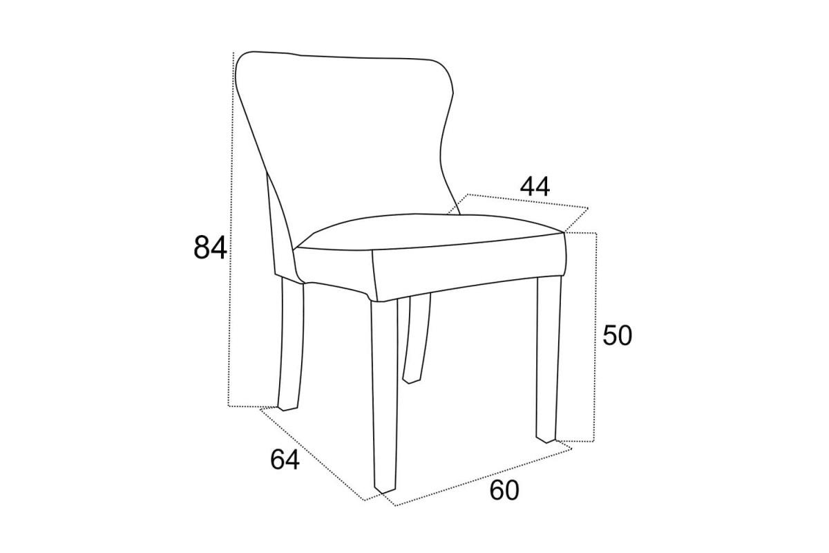 Designová jídelní židle Vivienne - různé barvy