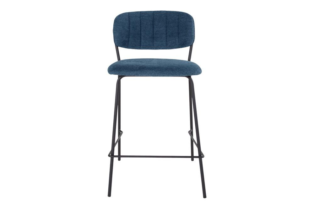 Designová barová židle Rosalie modrá