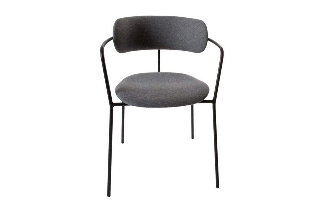 Designová jídelní židle Volet šedá