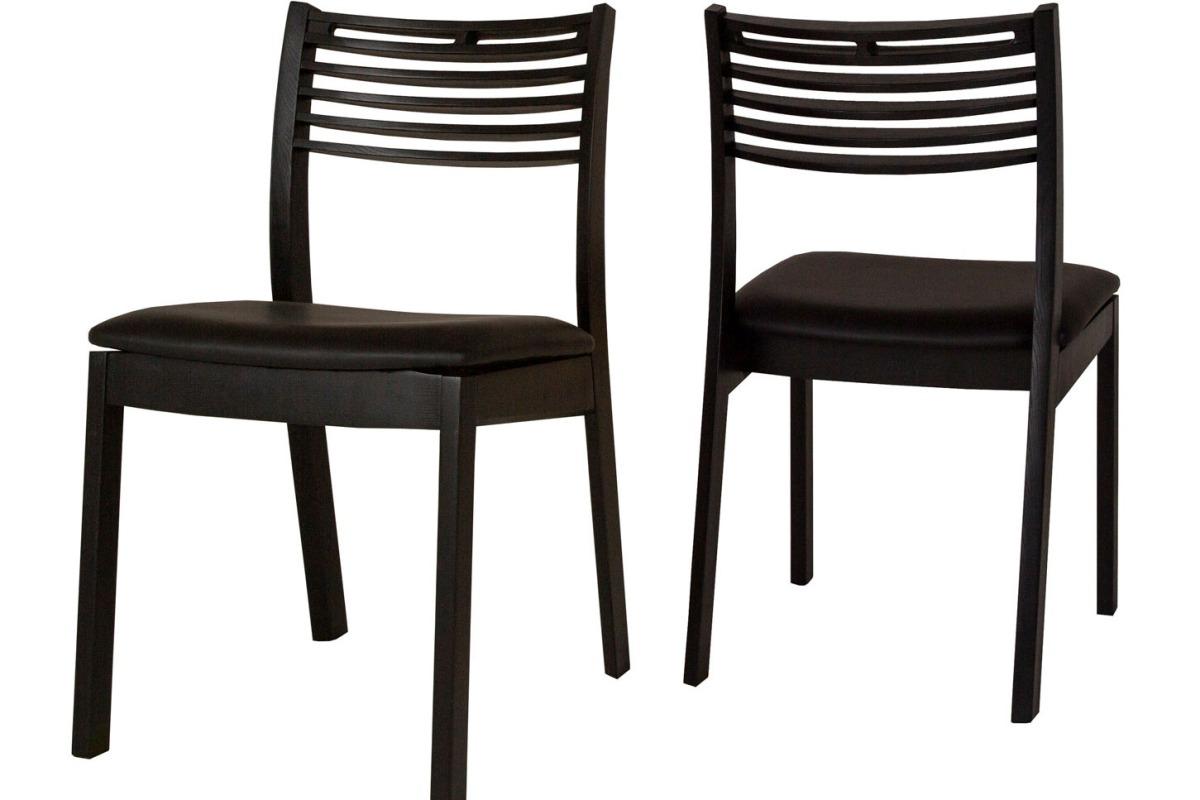 Designová jídelní židle Zezi černá