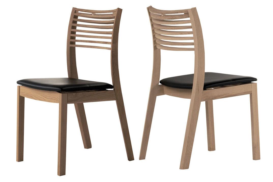 Designová jídelní židle Zezi hnědá