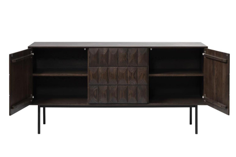 Designová komoda Kimora - 3 skříňky
