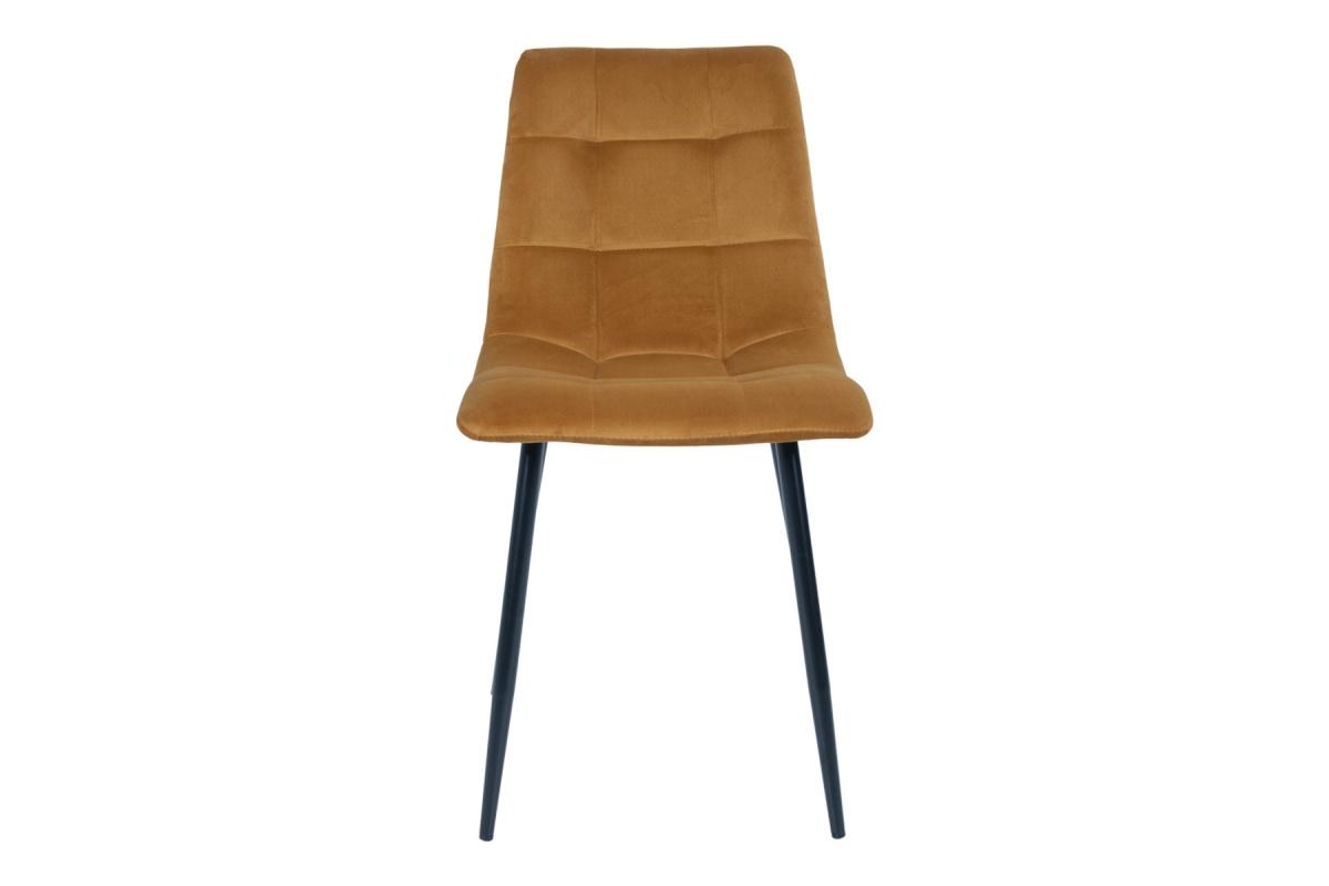 Designová židle Dominik hořčicová