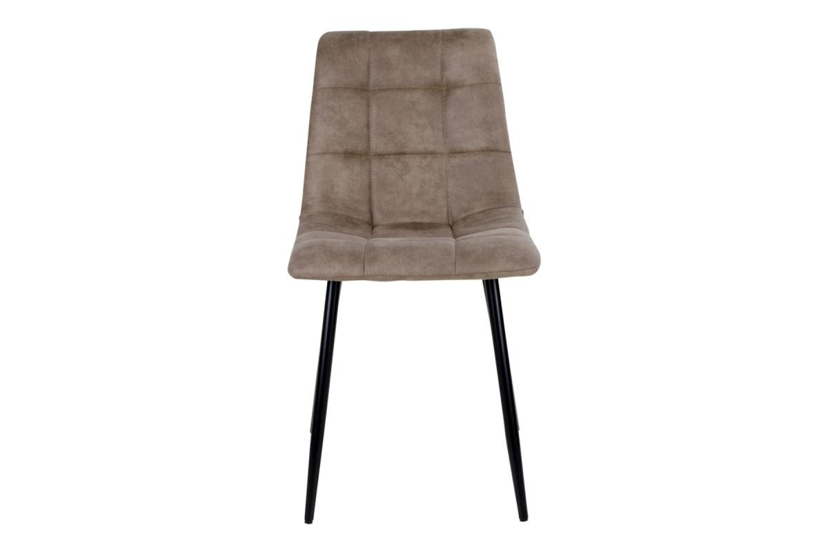 Designová židle Dominik světlehnědá