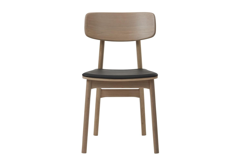 Designová židle Harper přírodní - černá