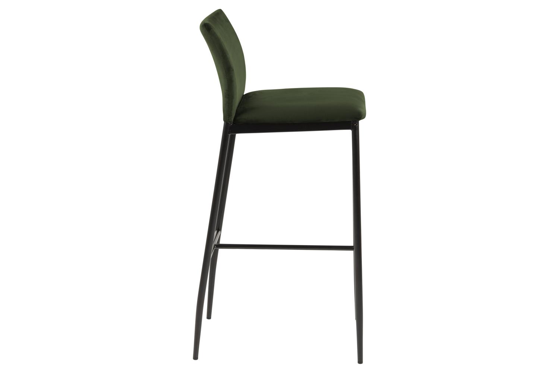 Designová barová židle Midena olivová