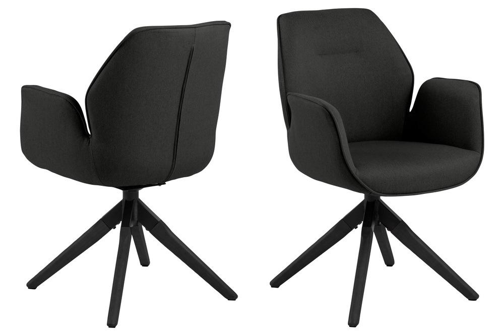 Designová židle Ariella černá - Skladem (RP)