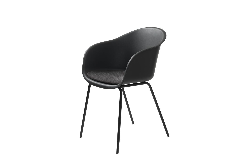 Designové křeslo Elisabeth černé