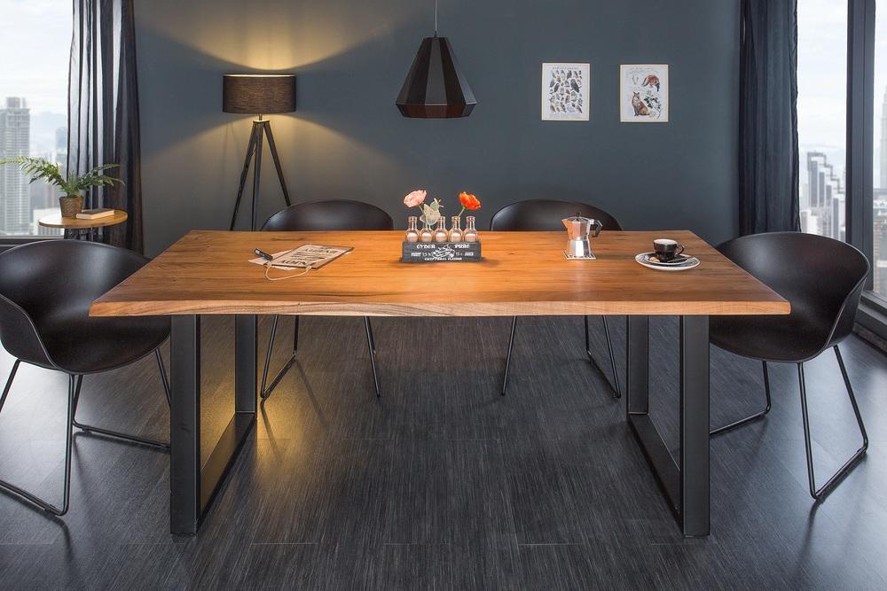 Designový jídelní stůl Massive 160 cm tloušťka 35 mm akácie