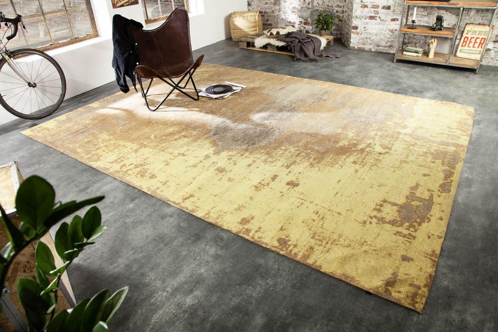 Designový koberec Rowan 350 x 240 cm rezavě-hnědý