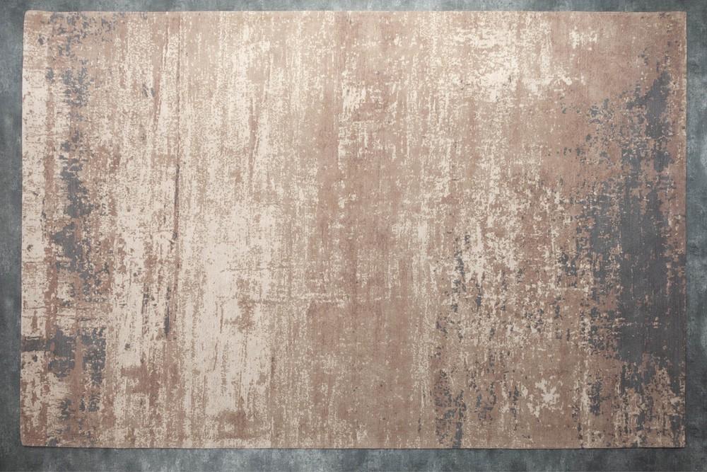 Designový koberec Rowan 350 x 240 cm šedo-béžový