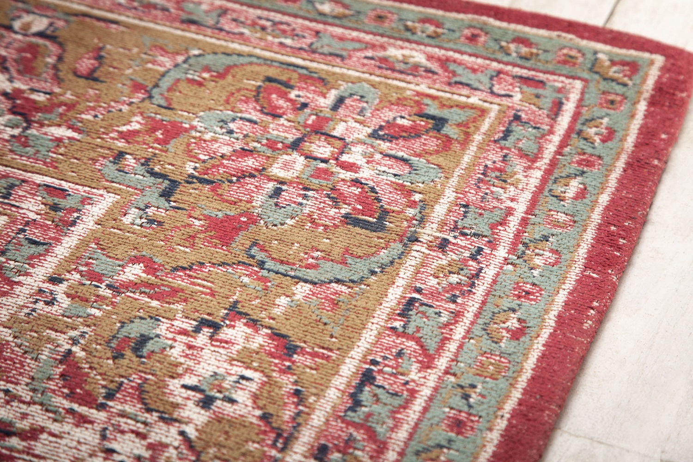 Designový koberec Saniyah 350 x 240 cm červený