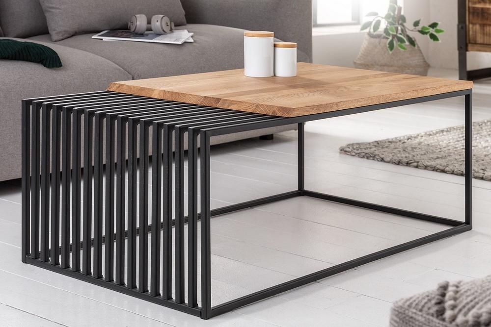 Designový konferenční stolek Haines 100 cm dub
