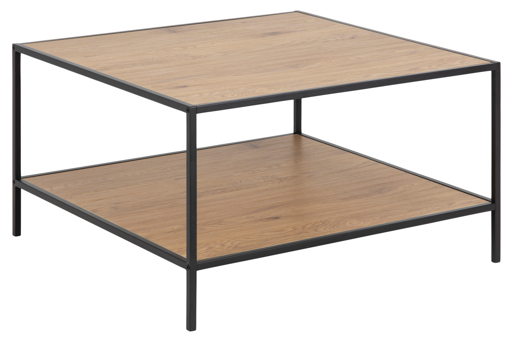Designový konferenční stolek Naja 80 cm divoký dub