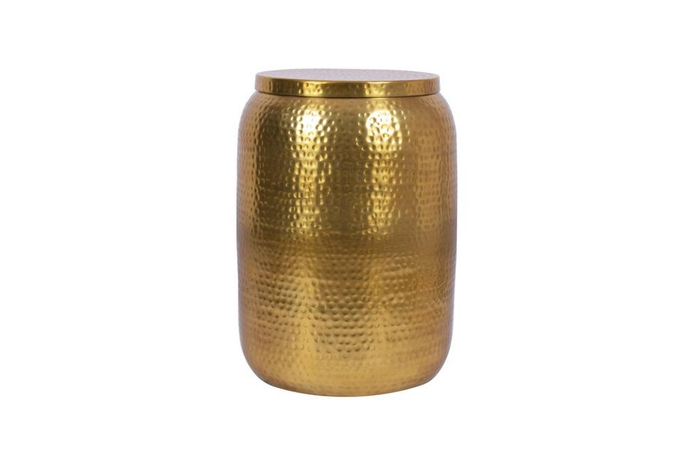 Designový odkládací stolek Malia Storage 35 cm zlatý