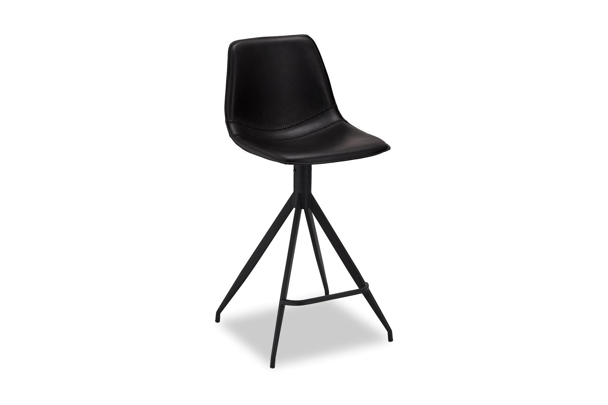 Designová barová židle Aeron, černá
