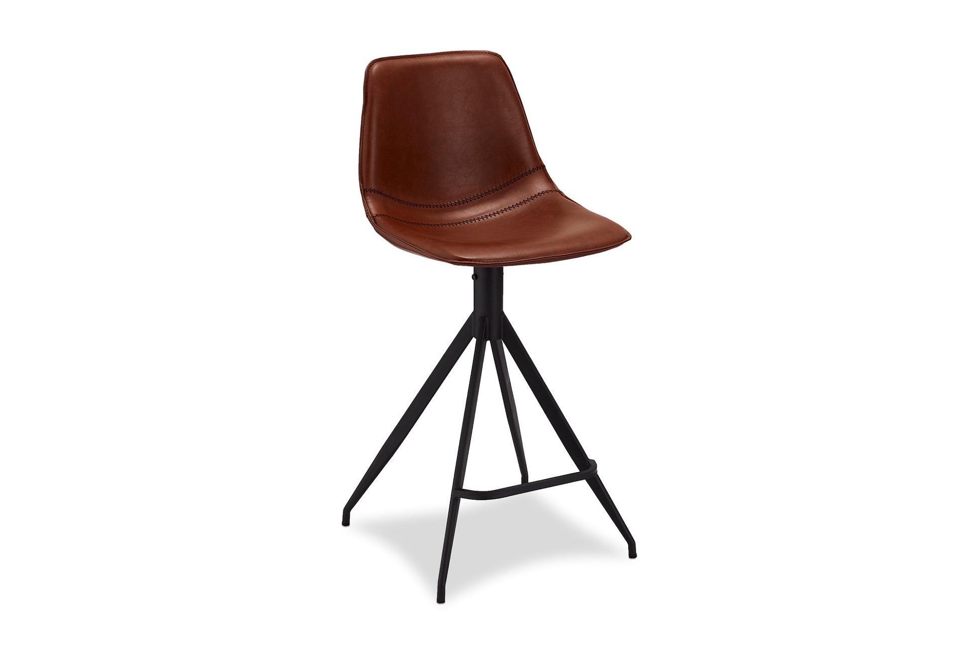Designová barová židle Aeron, světlehnědá