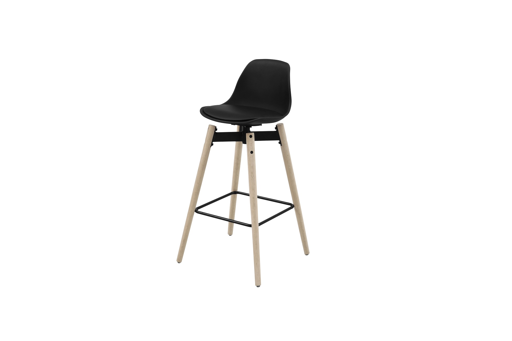 Designová barová židle Alter černá