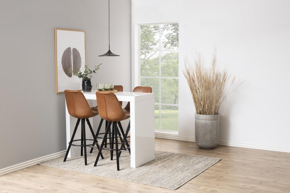 Designová barová židle Nascha brandy