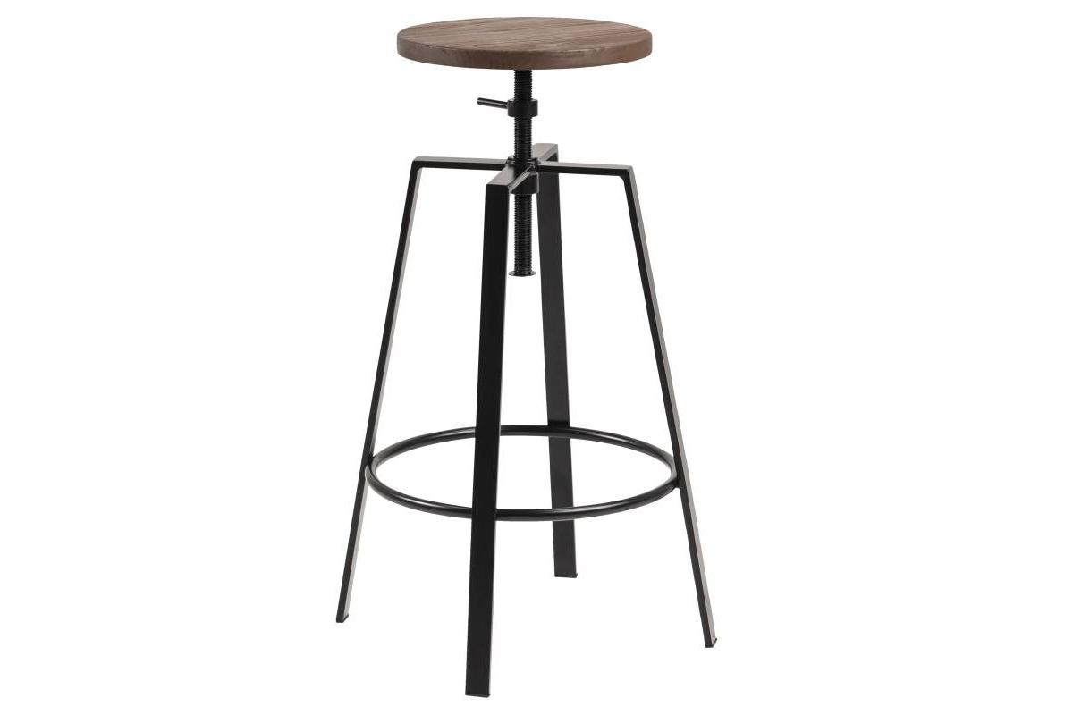 Designová barová židle Nephele černá