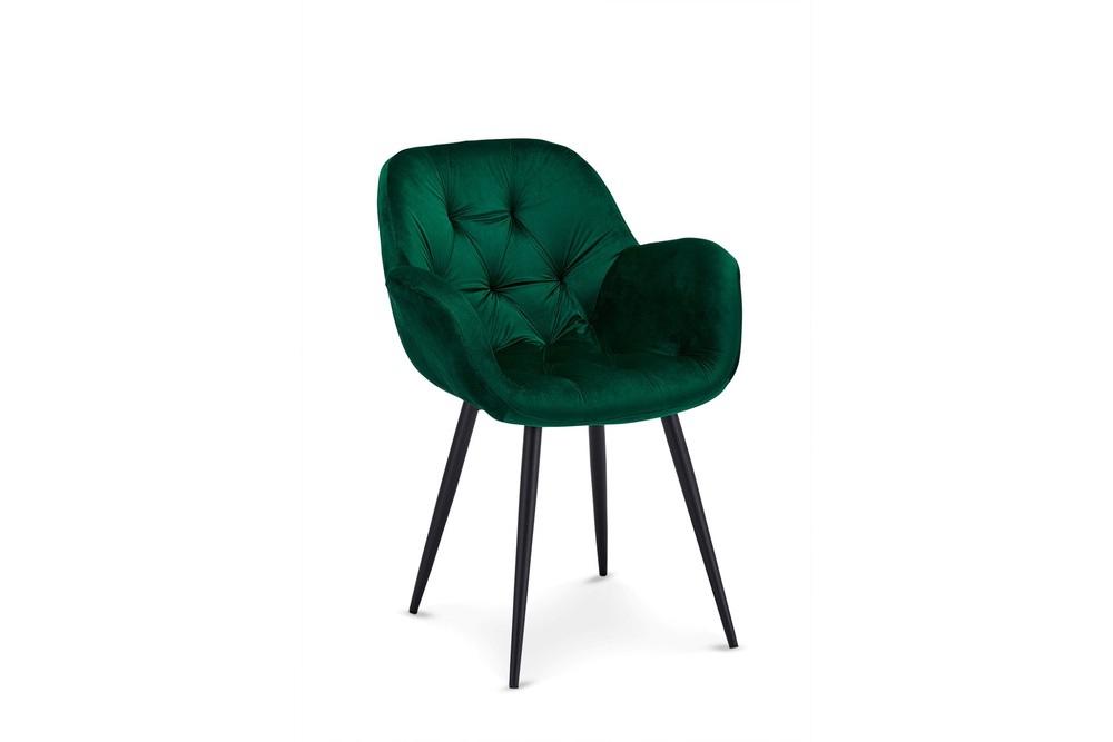 Designová jídelní židle Aeacus, zelená