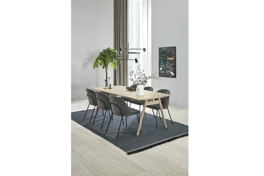 Designová jídelna židle Námořní antracitová